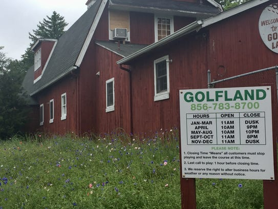 A developer has agreed to buy Golf Land, a Voorhees landmark since 1962.