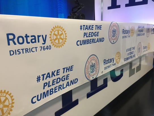 Rotary District 7640 is leading the #takethepledgecumberland
