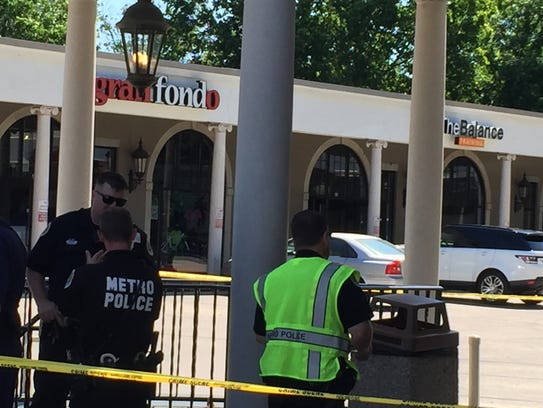 Metro police are investigating after a man was killed,