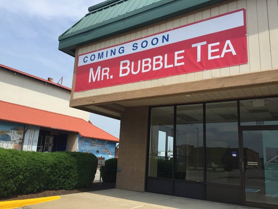 Could a Bubble Tea service be on its way? A sign on