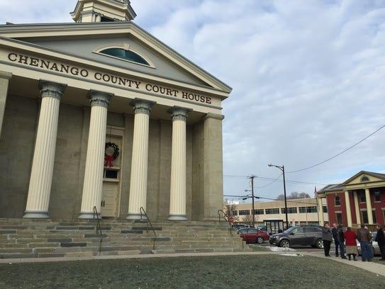 Chenango County Court House on Dec. 4, 2014