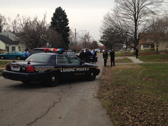 Police are investigating a reported shooting near Kalamazoo