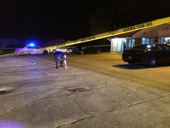 Man shot police search for suspect for Nashville motors dickerson pike