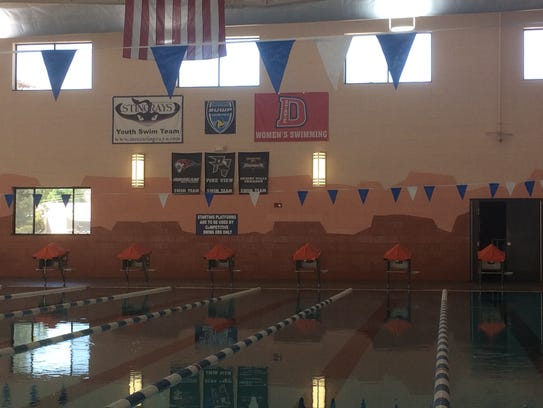 Spring signings include inaugural dixie state women 39 s swimmers - Spring hill recreation center swimming pool ...