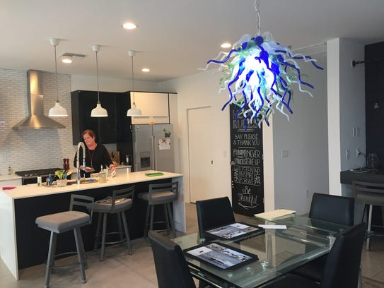 Heather Murphy in her new central Phoenix home on Nov.