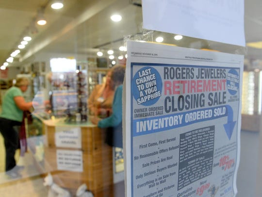 Rogers Jewelers will close this year after 42 years