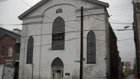 The church building is located at 218 S. Clay St. in NuLu.
