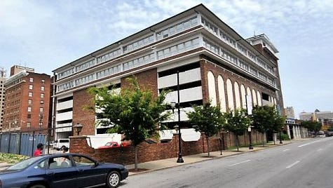 The building at 200 W. Broadway which will be converted into dorms for Jefferson Technical and Community College.