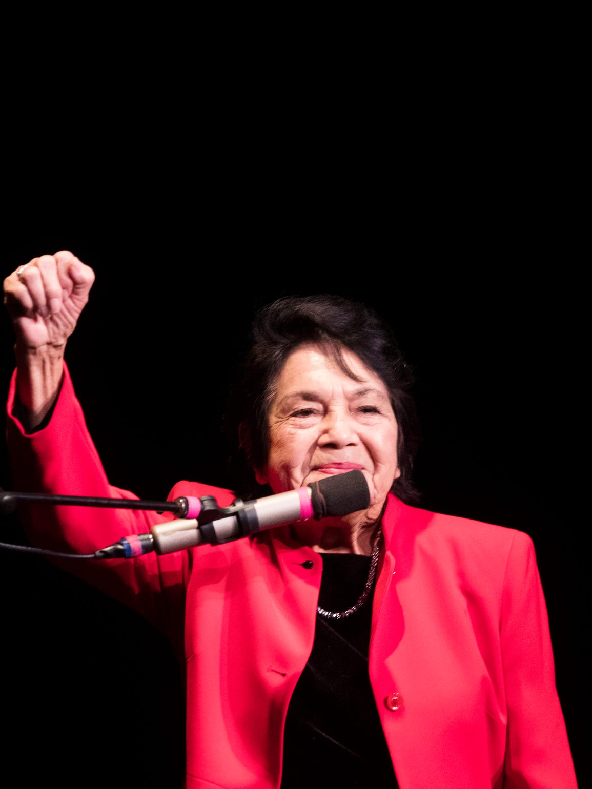 Dolores Huerta, who founded the farmworker union with