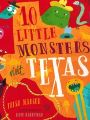 """10 Little Monsters Visit Texas"" by Trish Madson"