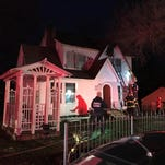 Four family members safely escape North Knoxville house fire