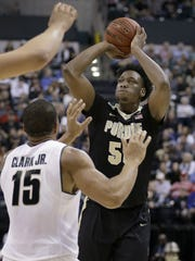Caleb Swanigan received a combine invite, while teammate Vince Edwards did not.
