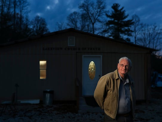 Ernest Childers, 72, is a  pastor at the Lakeview Church of Truth in Wolfe County. Childers chose sobriety 37 years ago and has run an addiction recovery program for nine years in the area.