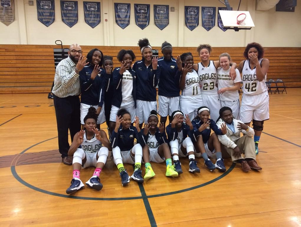 The Lady Golden Eagles of Paxon high school are headed to Lakeland to face Land O'Lakes in the Class 5A girls basketball state semifinals, Friday at 7 p.m..