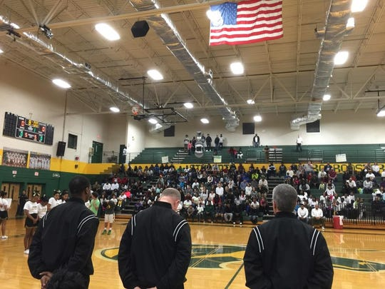 "Hillsboro High School held a moment of silence before the start its game Tuesday night to honor basketball player  LeVonzell ""L.T."" Taylor, who died over the weekend."