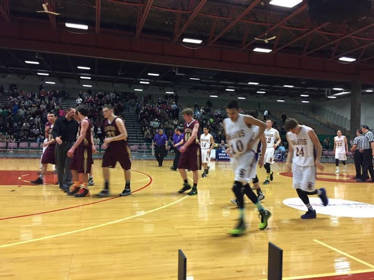 The undefeated Choteau Bulldogs knocked off St. Labre 80-42 in opening-round action at the Class B tournament.