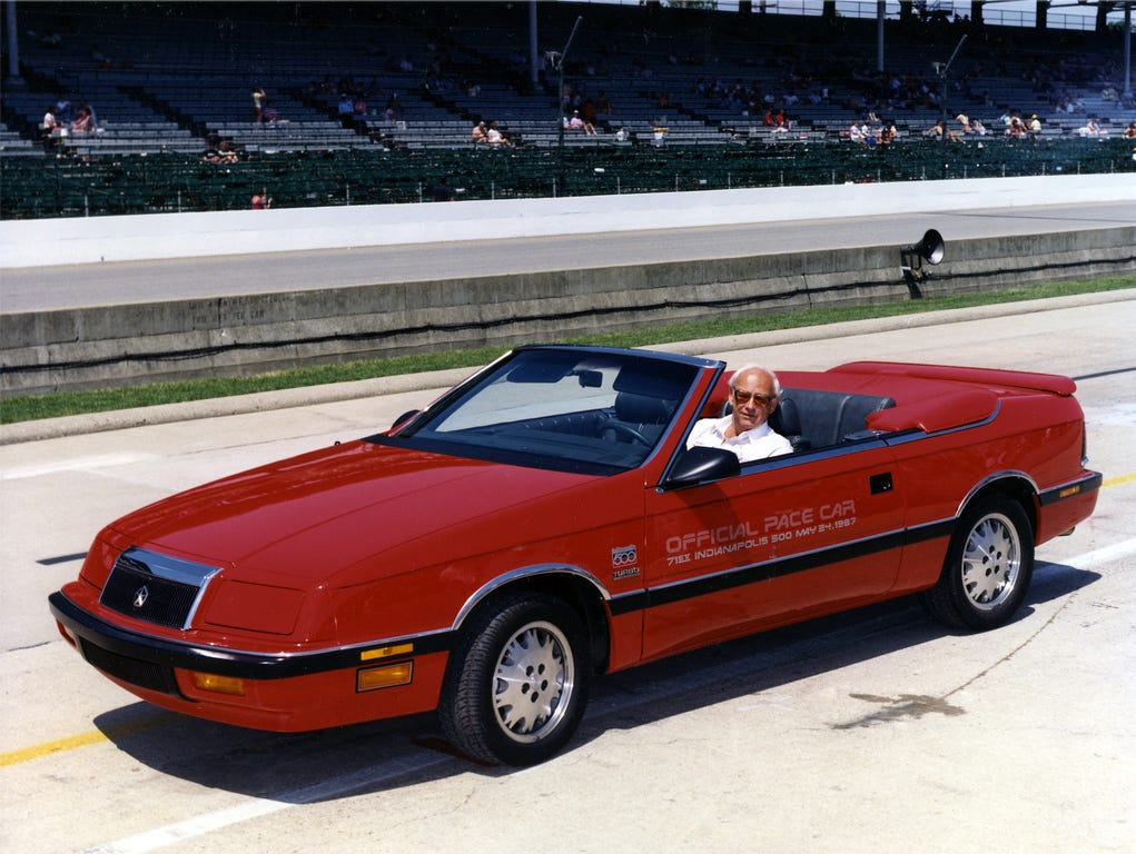 Even with a Carroll Shelby-massaged turbo four, it's still a LeBaron.