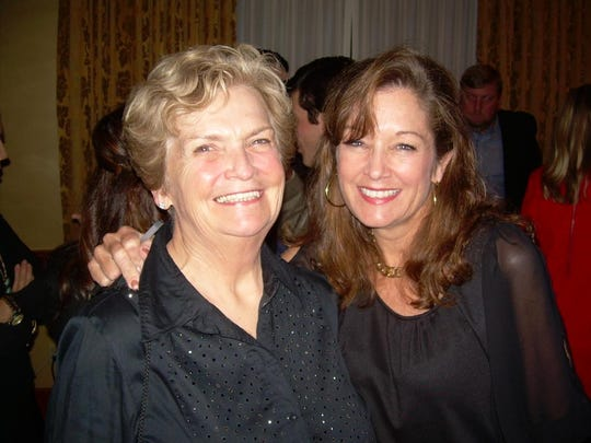 Kris Wartelle and her mother, Rae Logan