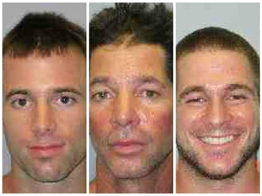 From left, John Koeppel, 24, Steven Koeppel 55, Kyle Koeppel, 22.