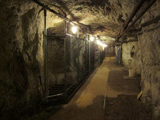 The Sterling Hill mine was in operation until 1986.
