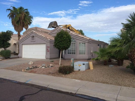 Ahwatukee Loop 202 demolition