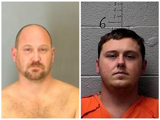 From left to right: Curtis Wayne Wright, Jimmy Rodgers