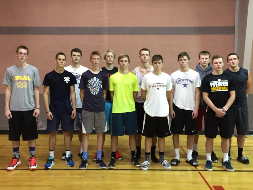 Eleven boys basketball players from the John Williams Basketball Elite Training organization took part in Saturday's Complete Player Clinic at Charlotte Myers Park.