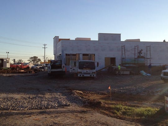 Clarksville's newest Burger King restaurant is under