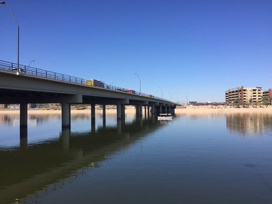 Police said a dead body was found in Tempe Town Lake