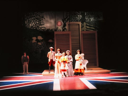 """""""Cloud Nine"""" was shown through the NMSU Department of Theatre Arts and American Southwest Theatre Company in 1995. ASTC has now operated for more than 30 years as the resident theatre company at NMSU, and will celebrate this milestone with a gala at 7 p.m. Saturday, Jan. 30, at the ASNMSU Center for the Arts."""