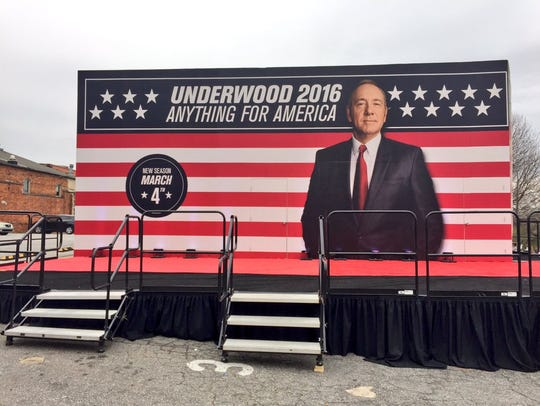 'House of Cards' President Frank Underwood is opening