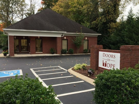 Doors of Hope is located at 428 E. Bell St. in Murfreesboro.