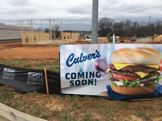 Culver's is now under construction on South Hampton