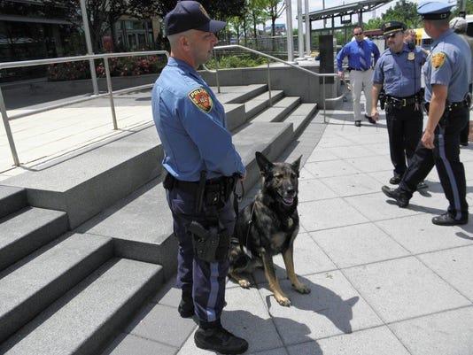NJ Transit police officer