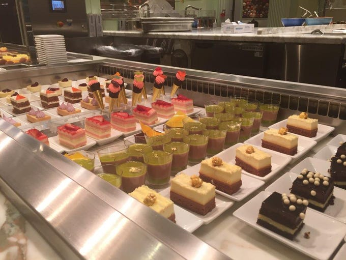 Desserts at the buffet at the Wynn Las Vegas.