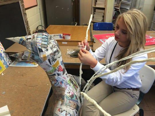 Talented Arts Program student Anna-Beth Witherington