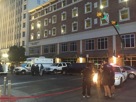 Mills Building bomb scare