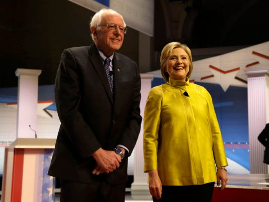 In this Feb. 11, 2016 file photo, Democratic presidential