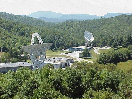 PARI is home to two 85-foot radio telescopes.