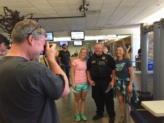 Blundell family obama visit