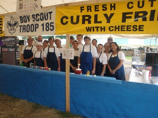 FILE PHOTO The food tent at the Somerset County 4-H Fair offers a wide variety of  fare prepared by local community organizations.