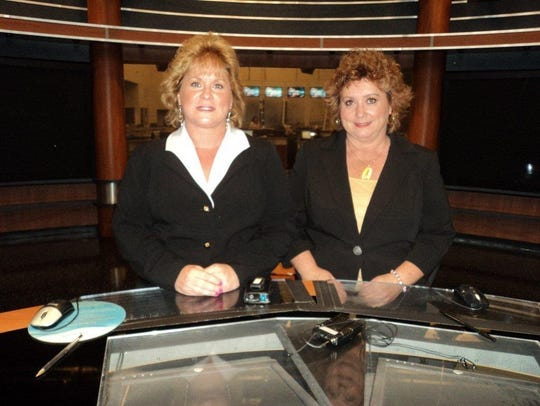 Psychic Sisters Jean and Suzanne Vincent, who claimed