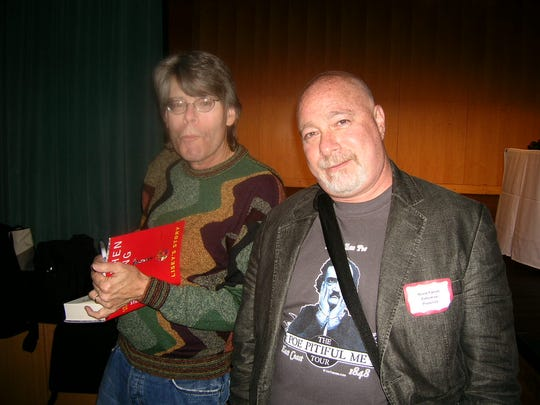 Authors meeting other authors: Here's Reed Farrel Coleman,