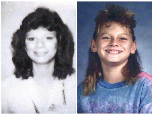 Lisa Story (left) and Robin Cornell were brutally murdered