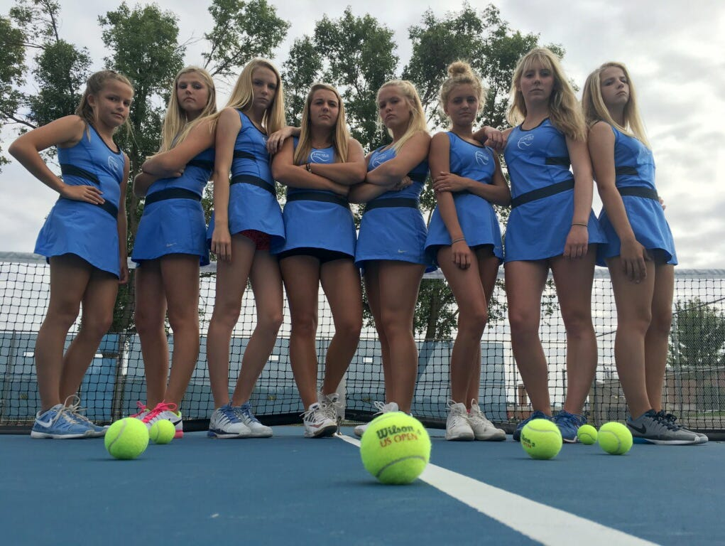 Lincoln girls tennis team