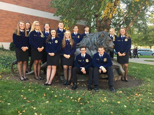 Henderson FFA named Three Star Chapter