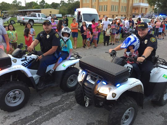 The Fellsmere Police Department celebrated National Night Out on Oct. 11.