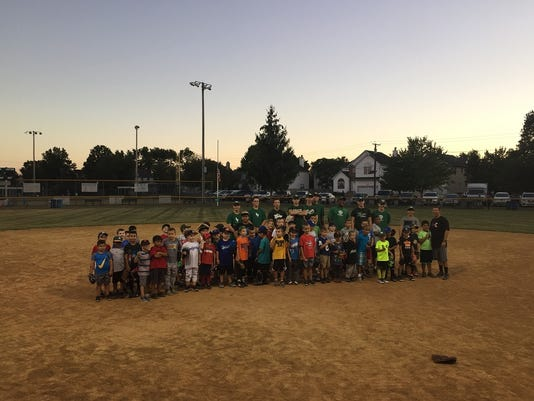 South Plainfield: South Plainfield Junior Baseball Club holds annual Fall baseball clinic PHOTO