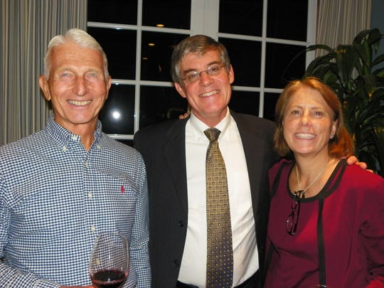 Rich Kinney, Dr. Jim Grichnik and board member Dr.