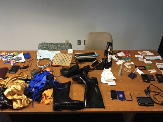 Port St. Lucie police recovered these items stolen from vehicles in the area of Northwest Bayshore Boulevard and the Magnolia Lakes development.
